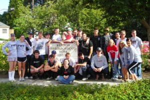 Portland Winterhawks Clean-up Kenton Rose Garden